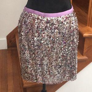 J. Crew Sequin Mini Skirt, Holiday Gift! 💕